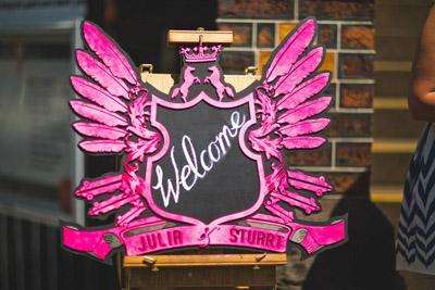 Wedding Custom Sign