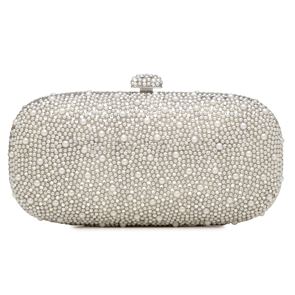 Classic Wedding Invitations Bridal Clutch