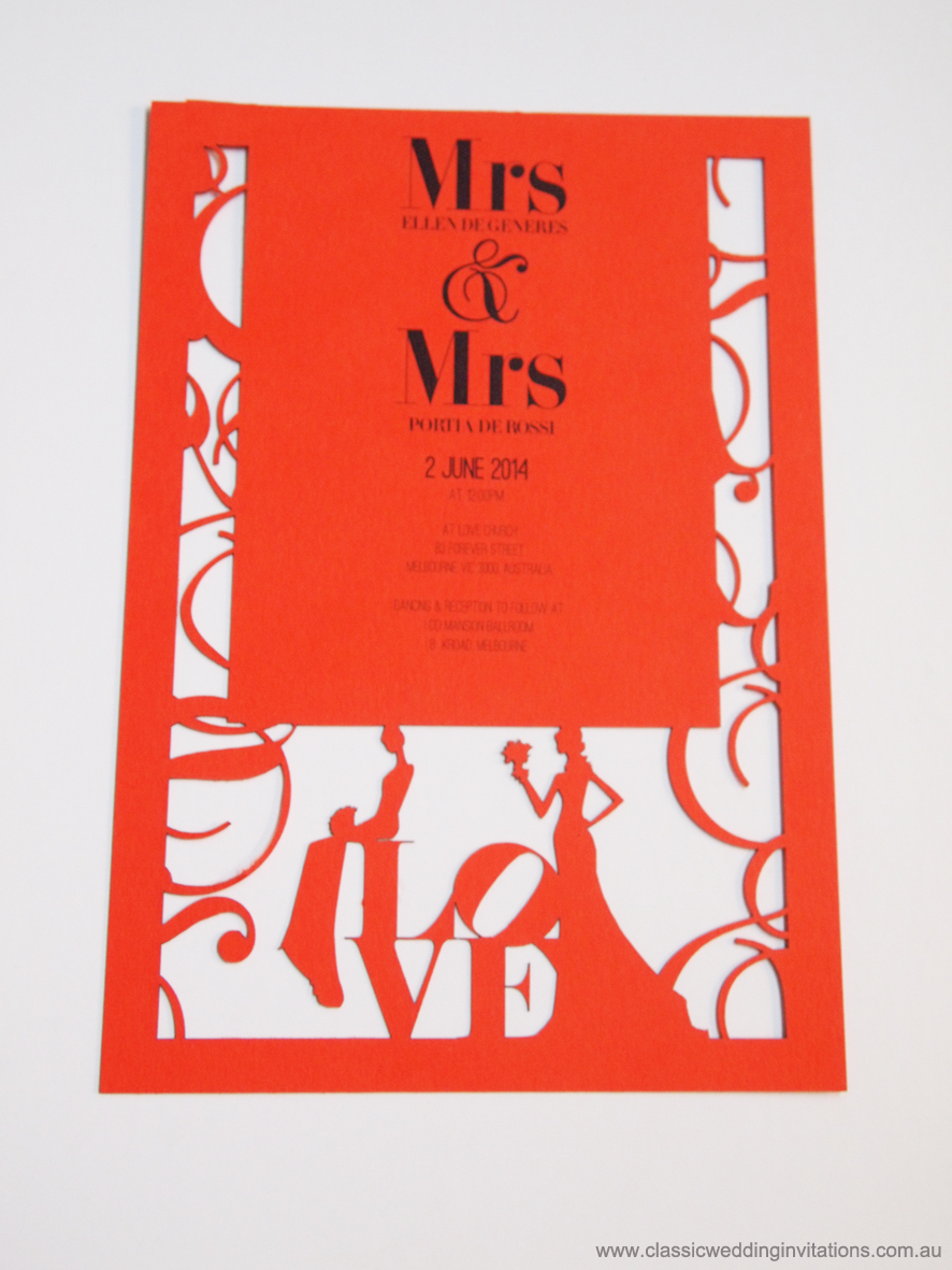 Classic Wedding Invitations - Inexpensive Wedding Invitations- New ...