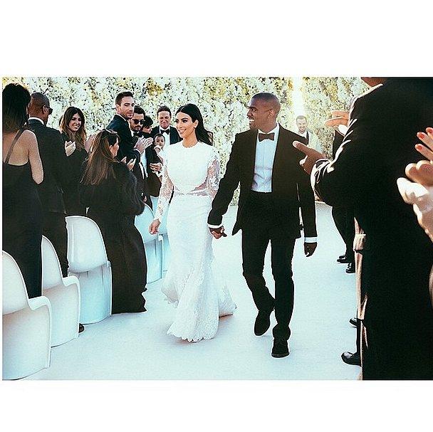 kim and kanye married
