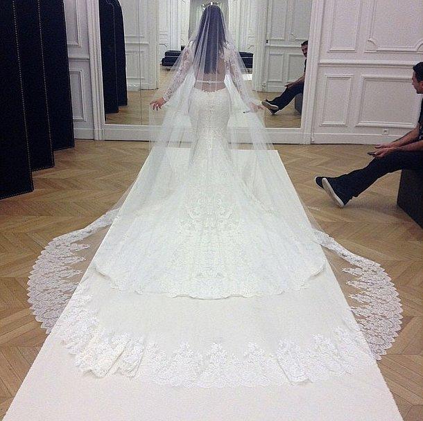 kims wedding dress