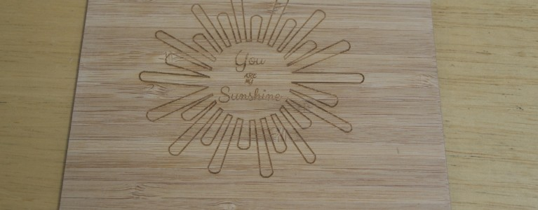 Custom Shine- wooden wedding invitations