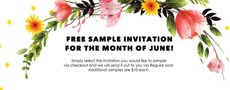 Classic Wedding Invitations Free Wedding Invitation Sample for the